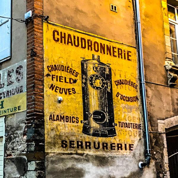 Rideau à mouche imprimé Chaudron par mon-rideau-a-mouche.com